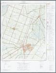 WAT001020362 Topografische kaart van een gedeelte van Noord-Holland met Purmerend, Neck, De Purmer, De Wijde Wormer, De ...