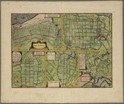 KA01108 Plattegronden van de Zijpe, de Beemster, de Purmer, de Wormer en Waterland op de zogenaamde vijfpolderkaart