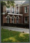 WAT001000343 Het z.g. Herenhuis, raadhuis van oudsook hotel. Vandaar dat de hoofdvleugel uit 1826 -een gebouw met ...