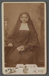 WAT001000504 Zuster Michaela ( meisjesnaam: Maartje Schouten) ingetreden februari 1890.