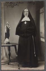 WAT001000520 Zuster Maria Antonia (meisjesnaam Cornelia Jonker, geboren op 02-04-1892 in de Beemster) ingetreden in de ...