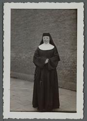WAT001000525 Eerwaarde Moeder Aloysia, geboren 26 maart 1880 te Beemster.Ingetreden in het zuster klooster van de ...