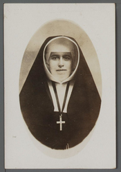 WAT001000532 Cornelia van Baarsen (Eerwaarde Zuster Calscera), geboren op 14 september 1898, Ingetreden in 1922 bij ...