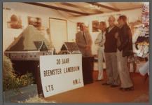 WAT001000541 Landbouwtentoonstelling.30 jaar Beemster Landbouw. L.T.B. ( in en verkoopkantoor L.T.B.) H.M.v.L. Maquette ...
