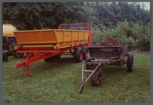 WAT001000548 Tentoonstelling van landbouwvoertuigen.