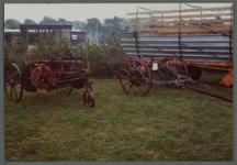 WAT001000550 Tentoonstelling van landbouwvoertuigen.