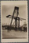 WAT001000497 Sloop van de Trambrug.De Trambrug, van de stoomtramlijn Amsterdam-Purmerend-Alkmaar, werd in 1895 ...
