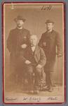 WAT001000585 Foto v.l.n.r.; Jan Lankelma, Wouter Sluis, geboren in 1827, en ...?.....