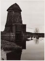 WAT001000680 Ruïne van de molen 'De Grote Molen'Poldermolen 'De Grote Molen'Ligging: langs de Jaagweg aan de ...