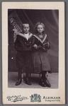 WAT001000762 Foto van: Ewoldus Johannes Kist, gebroren 28 juli 1871 te Groote LindtElizabeth Singer, geboren 28 ...