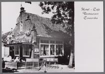 WAT001000766 Café Concordia heette 300 jaar geleden In de Bel en veel later Veld en Meer . In het café was van ...