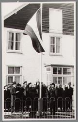 WAT001000705 Opening van het rusthuis Zonnehoek.Rusthuis Zonnehoek was een tehuis voor 22 bejaarden.Op 3 april 1952 was ...
