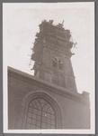 WAT001001012 Sloop en restauratie van de Speeltoren in Edam.Achtergrondinformatie:Rond 1970 zijn een aantal klokken ...
