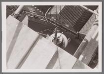 WAT001001017 Sloop en restauratie van de Speeltoren in Edam.Achtergrondinformatie:Rond 1970 zijn een aantal klokken ...