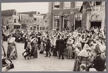 WAT001001052 Stadsfeest Edam.Van 12 tot 21 juli 1957 hielden de Edammers een stadsfeest ter gelegenheid van het 600 ...