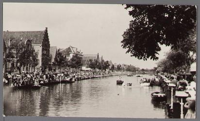 WAT001001055 Stadsfeest Edam.Van 12 tot 21 juli 1957 hielden de Edammers een stadsfeest ter gelegenheid van het 600 ...