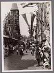 WAT001001056 Foto: rechts; Gert Ton.Stadsfeest Edam.Van 12 tot 21 juli 1957 hielden de Edammers een stadsfeest ter ...