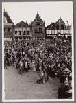 WAT001001058 Stadsfeest Edam.Van 12 tot 21 juli 1957 hielden de Edammers een stadsfeest ter gelegenheid van het 600 ...