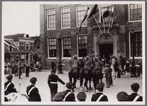 WAT001001061 Stadsfeest Edam.Van 12 tot 21 juli 1957 hielden de Edammers een stadsfeest ter gelegenheid van het 600 ...