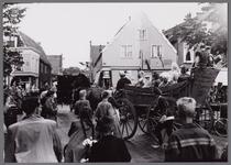 WAT001001064 Stadsfeest Edam.Van 12 tot 21 juli 1957 hielden de Edammers een stadsfeest ter gelegenheid van het 600 ...