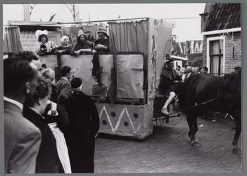 WAT001001066 Stadsfeest Edam.Van 12 tot 21 juli 1957 hielden de Edammers een stadsfeest ter gelegenheid van het 600 ...