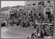 WAT001001073 Stadsfeest Edam.Van 12 tot 21 juli 1957 hielden de Edammers een stadsfeest ter gelegenheid van het 600 ...