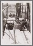 WAT001001015 Sloop en restauratie van de Speeltoren in Edam.Achtergrondinformatie:Rond 1970 zijn een aantal klokken ...
