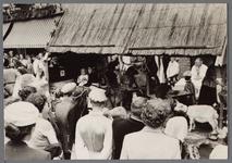 WAT001001046 Foto: ,, Het huishouden van Jan Steen''Stadsfeest Edam.Van 12 tot 21 juli 1957 hielden de Edammers een ...