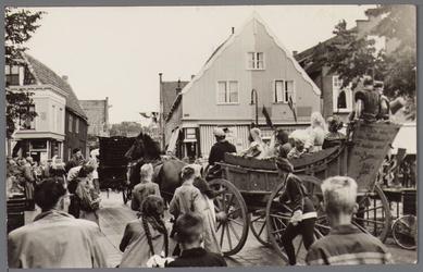 WAT001001065 Stadsfeest Edam.Van 12 tot 21 juli 1957 hielden de Edammers een stadsfeest ter gelegenheid van het 600 ...