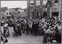 WAT001001072 Stadsfeest Edam.Van 12 tot 21 juli 1957 hielden de Edammers een stadsfeest ter gelegenheid van het 600 ...