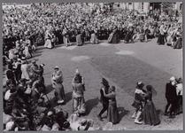 WAT001001077 Stadsfeest Edam.Van 12 tot 21 juli 1957 hielden de Edammers een stadsfeest ter gelegenheid van het 600 ...