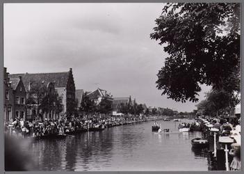 WAT001001076 Stadsfeest Edam.Van 12 tot 21 juli 1957 hielden de Edammers een stadsfeest ter gelegenheid van het 600 ...