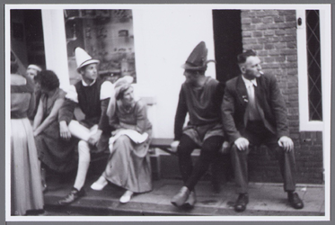 WAT001001085 Stadsfeest Edam.Van 12 tot 21 juli 1957 hielden de Edammers een stadsfeest ter gelegenheid van het 600 ...