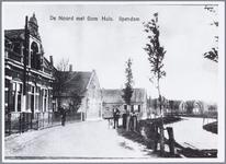 WAT001001216 Het oude gemeentehuis / raadhuis op De Noord in Ilpendam.