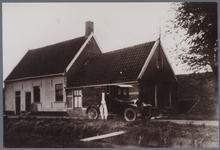 WAT001001533 Bakkerij van Wengerden, bakker Jacobus van Wengerden (geboren op 24-2-1893 te Nieuwkoop) heeft een auto ...