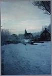 WAT001001615 Foto: de Nederlands-hervormde kerk van Kwadijk. Zaalkerk met spitsboogvensters en een houten torentje op ...