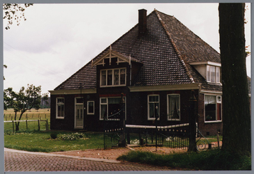 WAT001001665 Foto: stolpboerderij aan de Kwadijk nummer 2.