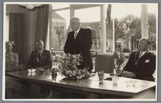 WAT001001880 Opening rusthuis De Keern Foto: de officiële opening van het rusthuis,,De Keern'' werd verricht door de ...