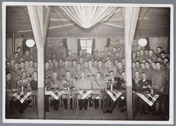 WAT001001915 Mobilisatie te Landsmeer aan het begin van de tweede wereldoorlog.