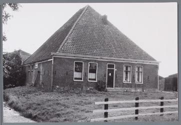 WAT001002085 Foto: Middelie 57 De boerderij is in 1989 gesloopt en herbouwd.