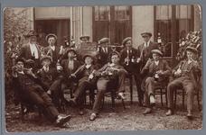 WAT001002122 Foto: Lichting 1918 MIddelie/Warder, na aanleiding van het uitbreken van de oorlog tussen Duitsland en ...