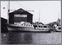 WAT001002193 Foto: Aanzicht op een deel van de haven te Monnickendam. Hakvoort, Monnickendam. 1919-heden (2018). Een ...