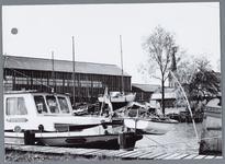 WAT001002194 Foto: Aanzicht op een deel van de haven te Monnickendam.