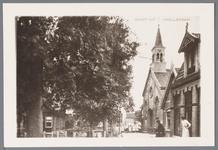 WAT001002549 Rechts achter: de Nederlands-hervormde kerk uit 1861-1862.