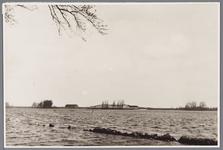 WAT001002653 Fort Spijkerboor tijdens de inundatie van 1944-1945