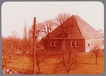 WAT001002705 Stolpboerderij t Huis van Egmond anno 1869 aan de Westdijk E13 in de Purmer.