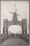 WAT001002726 Feestpoort ter gelegenheid van het 300 jaar bestaan van de Purmer.1622 tot 1922.