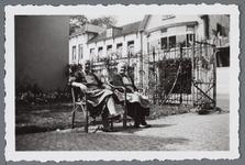 WAT001002968 De tuin van het vroegere Gast en Proveniershuis, later ziekenhuis. Op 29 maart 1940 veranderde de functie ...