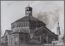 WAT001003174 Koepelkerk uit 1853, gebouwd in opdracht van de Hervormde gemeente. Het ontwerp was van stadsarchitect ...