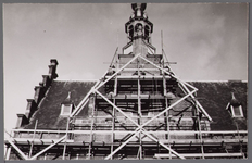 WAT001003219 Renovatie van het voormalig neo-renaissancistisch stadhuis van Purmerend, gebouwd in de jaren 1911-1912 ...